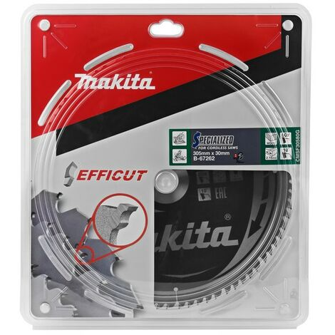 Makita B-67262 305 x 30 x 80T Efficut TCT Saw Blade