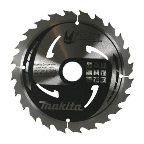 MAKITA B08056 190 X 30 24T CIRCULAR SAW BLADE