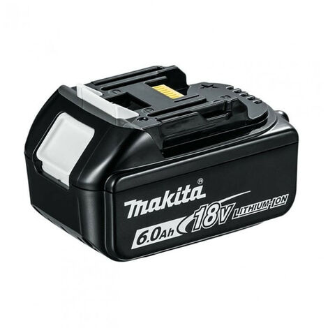 Makita BL 1860 B 18 V - 6,0 Ah / 6000 mAh Li-Ion Batterie avec LED