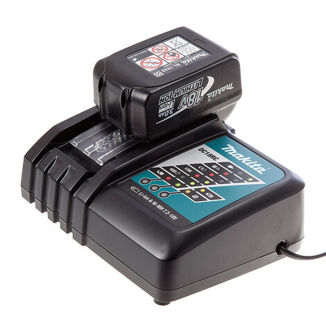 Makita BL1830 18V 3.0Ah LXT Lithium-Ion Battery & Charger Bundle