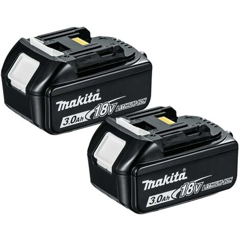 Makita BL1830 18V 3.0Ah LXT Lithium-Ion Battery - Twin Pack