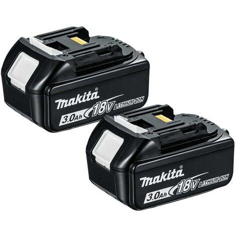 Makita BL1830 18V LXT 3.0Ah Li-Ion Battery Twin Pack