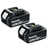 Makita BL1840 18V LXT 4.0Ah Li-Ion Battery Twin Pack