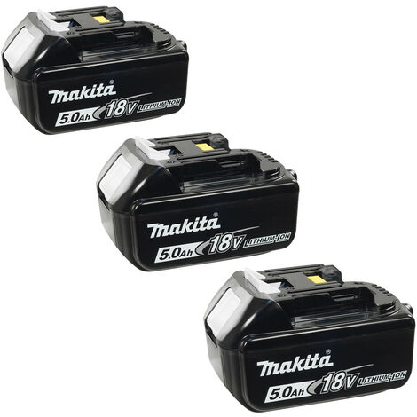 Makita BL1850 18v 5.0Ah LXT Lithium-Ion Battery - Triple Pack