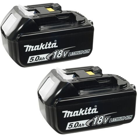 Makita BL1850 18v 5.0Ah LXT Lithium-Ion Battery - Twin Pack