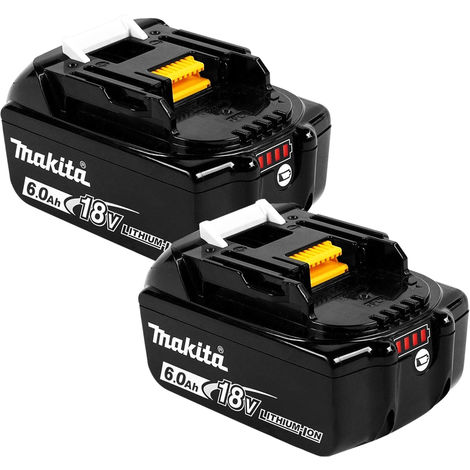 Makita BL1860B x 2 18V LXT Li-ion 6.0Ah Genuine Battery 197422-4 Twin Pack