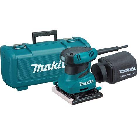 Makita BO4556K - Ponceuse vibrante dans mallette - 200W - 112 x 102mm