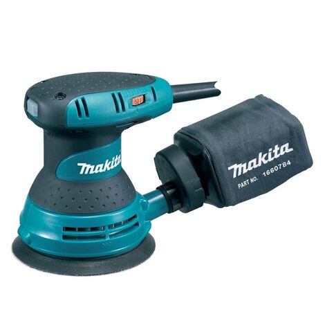 "Makita BO5031 125mm 5"" 240v Random Orbital Sander Electronic Speed Control"