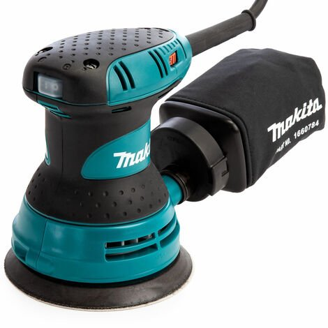 "Makita BO5031 125mm 5"" Random Orbital Sander Speed Control 240V"