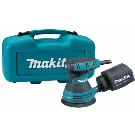 Makita BO5031K Lijadora rotorbital en maletín - 300W - 125mm - variable
