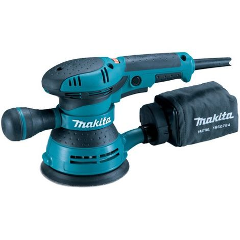 "Makita BO5041 125mm 5"" Random Orbital Variable Speed Sander 110V"