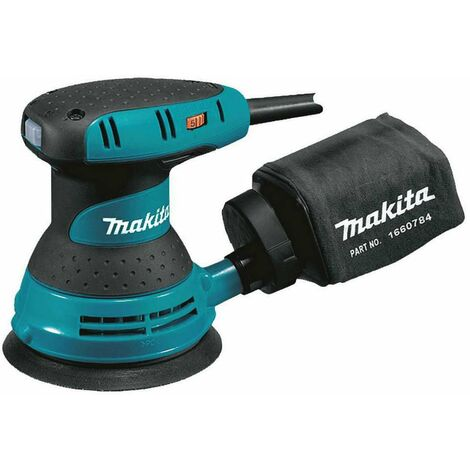 "Makita BO5041 5""/ 125mm Random Orbit Sander with Esc & Front Grip"