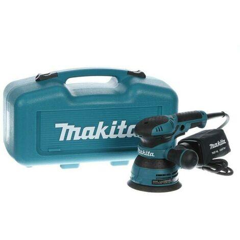 Makita BO5041K Ponceuse excentrique dans coffret - 300W - 125mm - variable