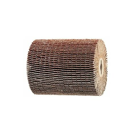 MAKITA Brosse abrasive à lamelles fendues pour décapeur à rouleau 9741