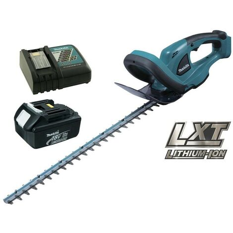 Makita BUH523RF LXT 18v Li-Ion Cordless Hedge Cutter Trimmer 52cm + 1 Battery