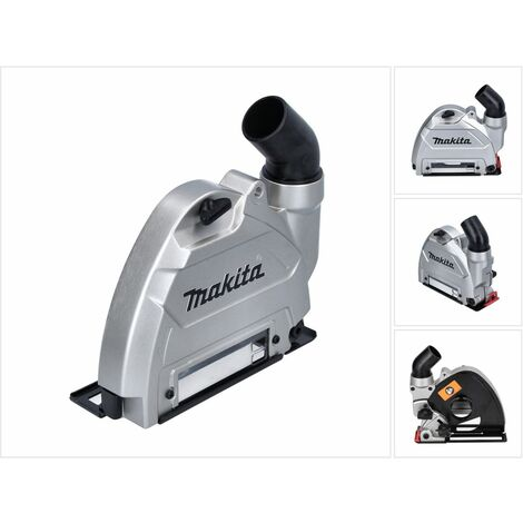 Makita Carter de protection pour aspiration 125 mm - pour meuleuse d'angle 40 V max. ( 191G06-2 )