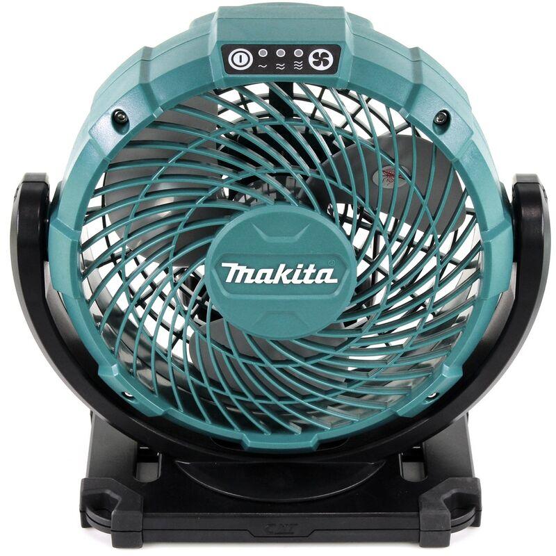 Makita Akku-Lüfter 14,4V 18V mit Netzteil DCF203Z Ventilator Sologerät