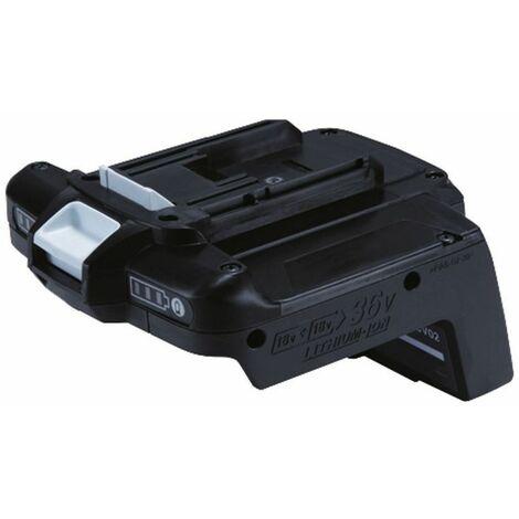 Makita Convertisseur Li-Ion 36 V pour 2 batteries Li-Ion 18 V - BVC03