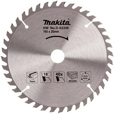 Makita D-03349 165 x 20mm 40 Teeth Circular Saw Blade for Wood