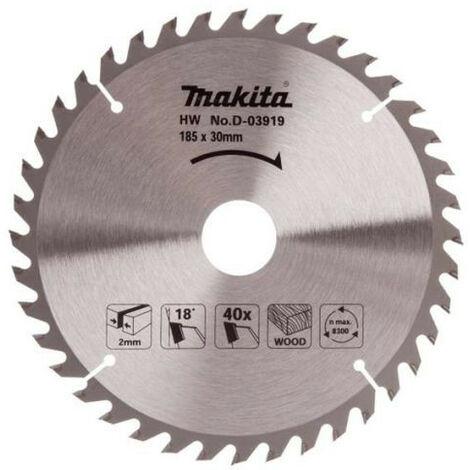 """main image of """"MAKITA D-03919 DISCO HM 185 mm 40D EC PARA 5704R"""""""