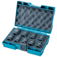 Makita D-41517 9 Piece 1/2inch Drive Impact Socket Set