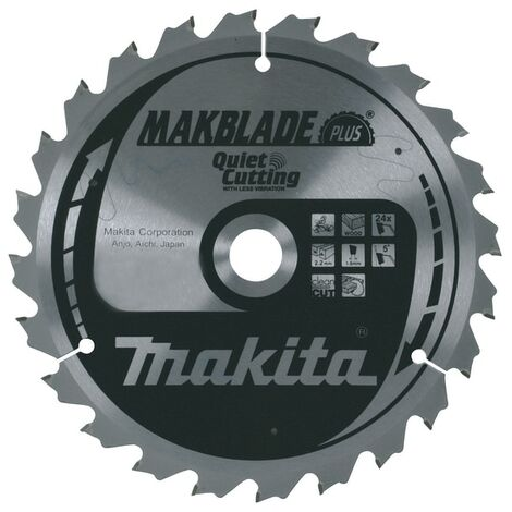 Makita D-46408 TCT Saw Blade 260mm x 30mm x60T