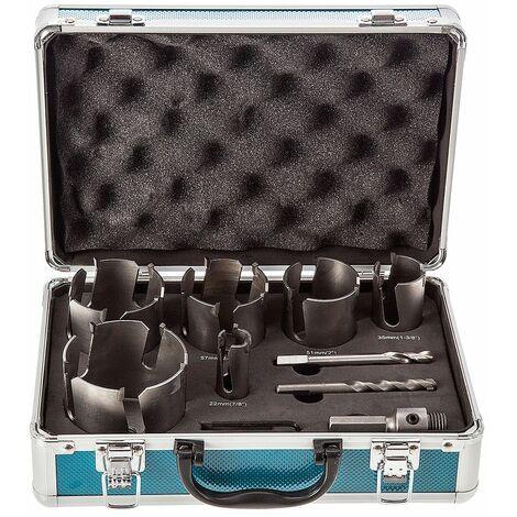 Makita D-51297 9 Piece TCT Multi-Material Universal Holesaw Kit