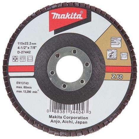 MAKITA D-53752 - Disco mil hojas 115(g120)