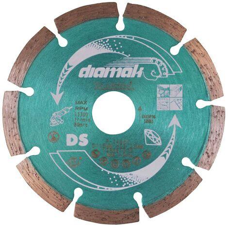 "main image of ""Makita D-61123 SEG Diamond Cutting Disc 115mm Blade Concrete Stone Cutter"""