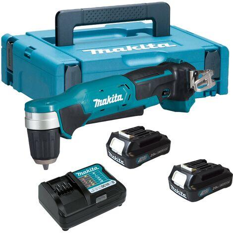 Makita DA333DWAJ1 12v Max Lithium Cordless CXT Angle Drill Driver - 1 x Battery