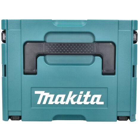 Makita DBN 500 ZJ Cloueur pneumatique sans fil 15-50 mm 90° 18 V + Coffret MakPac - sans batterie - sans chargeur