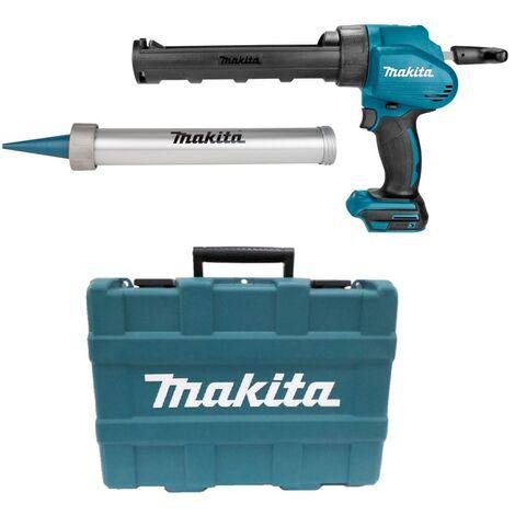 Makita DCG180ZXK - Pistolet à colle / silicone Li-Ion 18V (machine seule) dans mallette + porte cartouche et support tubes