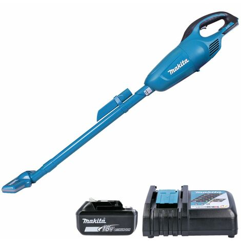 Makita DCL180 18V Portable Vacuum Cleaner With 1 x 5.0Ah Battery & Charger