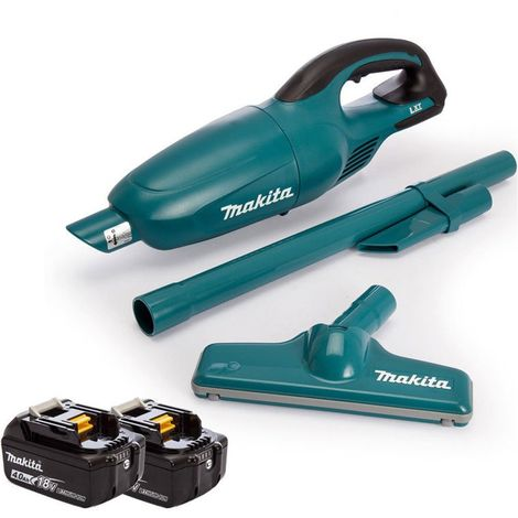 Makita DCL180Z 18V Li-ion Cordless Vacuum Cleaner with 2 x 4.0Ah Batteries