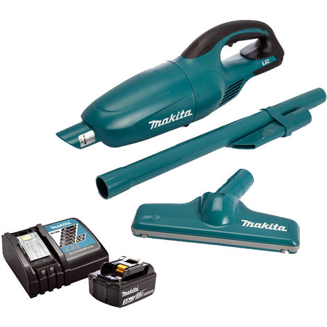 Makita DCL180Z 18V Vacuum Cleaner Cordless With 1 x 3.0Ah Battery & Charger:18V