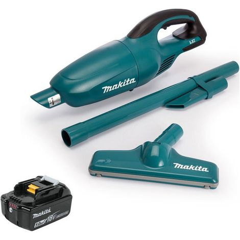 Makita DCL180Z Cordless 18V Li-ion Vacuum Cleaner With 1 x 5.0Ah BL1850 Battery:18V