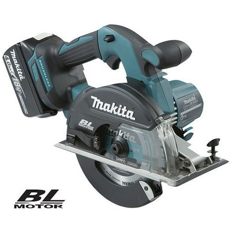 MAKITA DCS551RMJ - Cortador de metal 150mm 18v litio 4.0ah bl makpac
