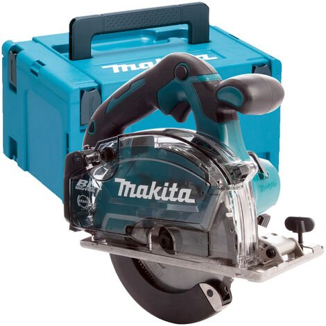 Makita DCS553ZJ 18V LXT 150mm Brushless Metal Saw Body Only With Case:18V