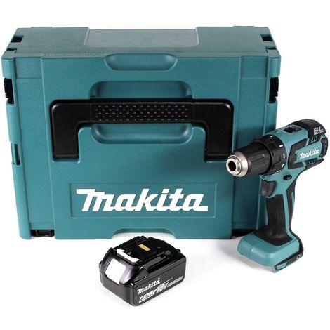 Makita DDF 459 G1J 18 V Li-Ion Perceuse visseuse sans fil + Coffret Makpac + 1 x Batterie 6,0 Ah - sans Chargeur