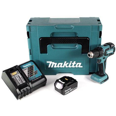 Makita DDF 459 RM1J 18 V Li-Ion Perceuse visseuse sans fil + Coffret Makpac + 1 x Batterie 4,0 Ah + Chargeur