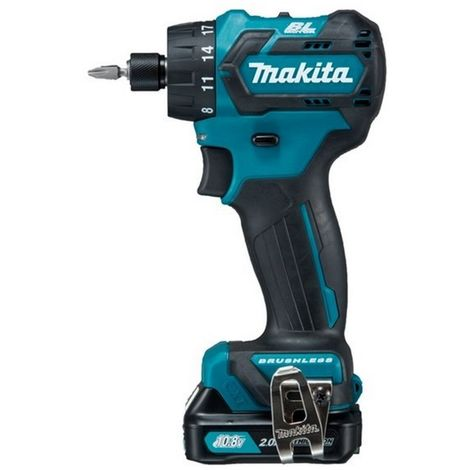 """Makita DF032D - Taladro atornillador 10,8V BL 1/4"""" 2,0Ah"""