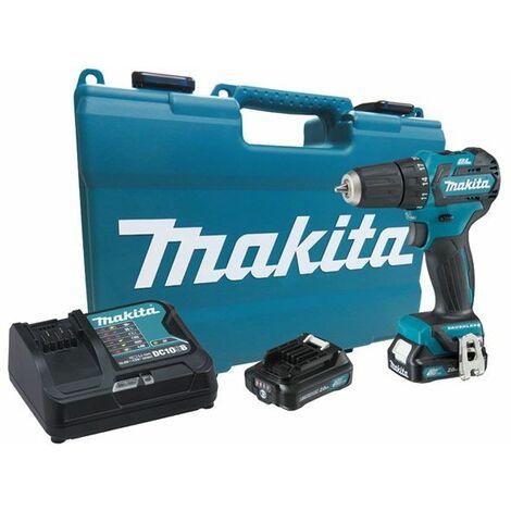 Makita DF332D - Taladro atornillador 10,8V BL 2,0Ah