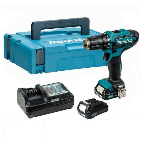 Makita DF333DWAE 12V Max CXT Drill Driver Kit with 2x2.0Ah Li-ion Batteries