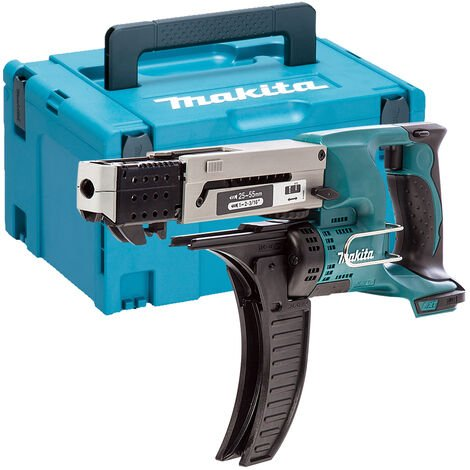 Makita DFR550Z 18v LXT Auto Feed Drywall Collated Screwdriver Bare + Makpac Case