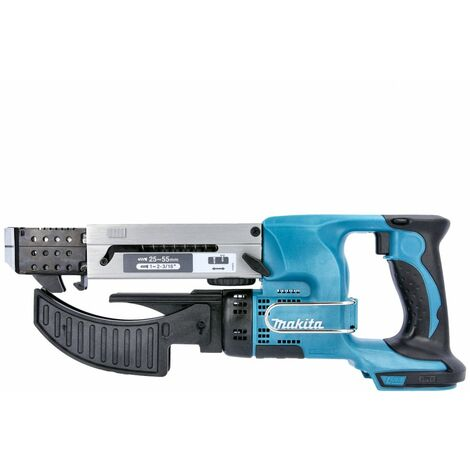 Makita DFR550Z 18V LXT Auto Feed Screwdriver 55mm Body Only