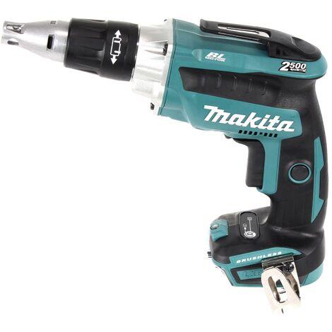 Makita DFS 250 RG1J Atornillador a batería 18V / Brushless + Makpac 2 + 1x Batería 6,0 Ah + Cargador DC18RC