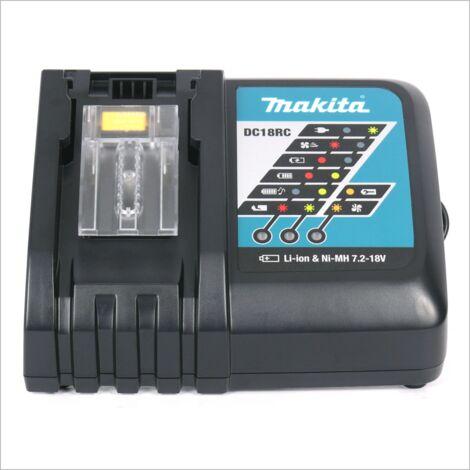 Makita DFS 451 kit Y1J-D Visseuse plaque de plâtre sans fil 18 V avec boîtier MAKPAC inclus Batterie BL 1815 N + chargeur DC18RC