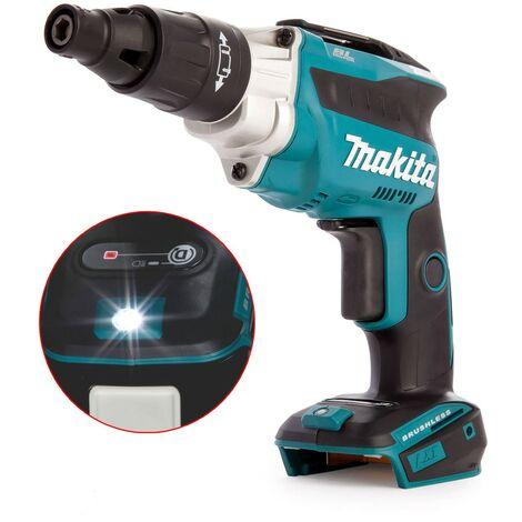 """Makita DFS251Z TEK 18v Brushless High Speed Lithium Screwdriver 1/4"""" Hex - Bare"""