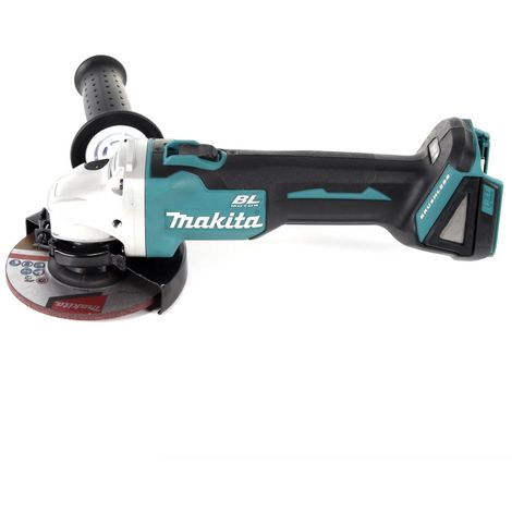 makita dga 504 rf1j 18 v meuleuse sans fil 125 mm avec. Black Bedroom Furniture Sets. Home Design Ideas