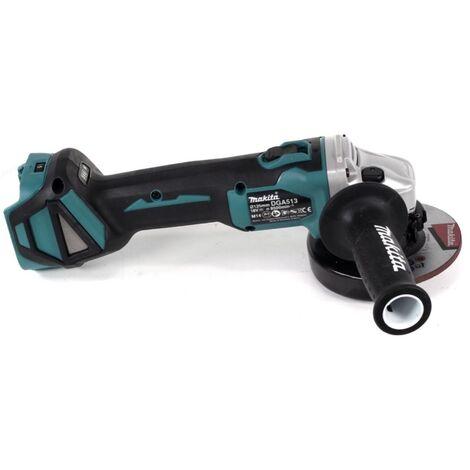 Makita DGA 513 Z Akku Winkelschleifer 18V 125mm Brushless Solo + 6x Scheibe - ohne Akku, ohne Ladegerät